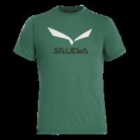 Salewa Solidlogo DRI-REL M S/S TEE Myrtle melange L