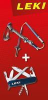 Leki Micro Vario Carbon 6492062 + nůž Victorinox
