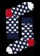 Happy Socks Big Dot Sock BD01-608 - 1/3