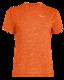 Salewa PUEZ Melange Dry M S/S TEE, Red orange melange XL - 1/2