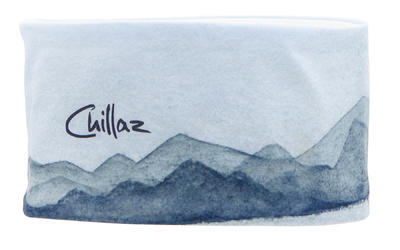 Chillaz Headband Alps Watercolor Blue