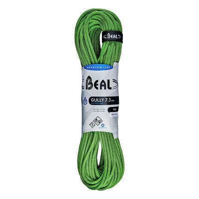 Beal Gully Green 60m Golden Dry 7,3mm      , Green