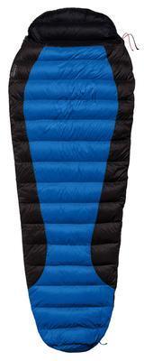 Warmpeace Viking 300 170 Blue/grey/black - levý zip - 1