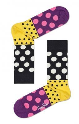 Happy Socks Dot Split Anniversary Sock DSP1001-9000 - 1