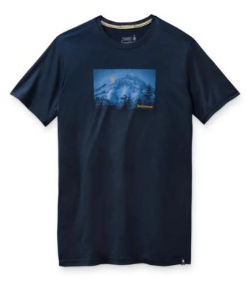 Smartwool M Merino Sport 150 Mount Hood Moon Graphic Tee - 1