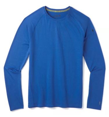 Smartwool M Merino 150 Baselayer LS, Light alpine blue XL