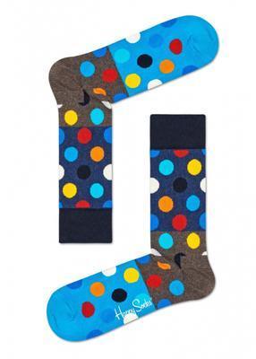 Happy Socks Big Dot Block Sock BDB01-8300 - 1
