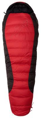 Warmpeace Viking 900 170 Red/grey/black - pravý zip - 1