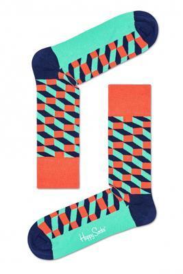 Happy Socks Filled Optic Sock FIO01-3001 - 1