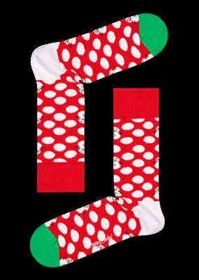 Happy Socks Big Dot Snowman BDS01-4300 - 1