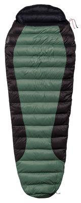 Warmpeace Viking 300 180, Green/grey/black - levý zip - 1
