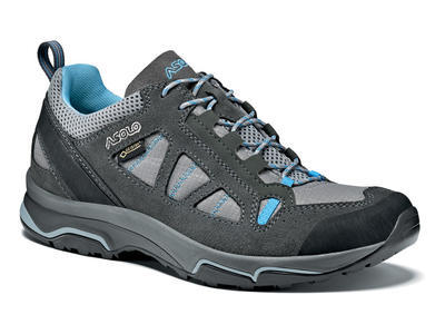 Asolo Megaton GV ML Graphite/stone/cyan blue 5 UK - 1
