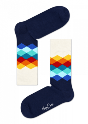 Happy Socks Faded Diamond FD01-105 - 1