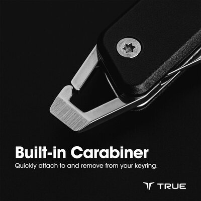 True Utility Modern Keychain Knife Grey - 2