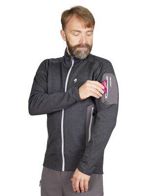 High Point Woolion Merino 2.0 Sweatshirt, Silt Green XL - 2