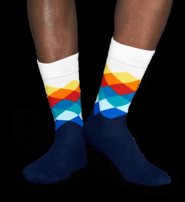 Happy Socks Faded Diamond FD01-105, 41-46 - 2