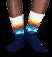 Happy Socks Faded Diamond FD01-105, 41-46 - 2/3