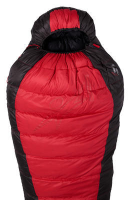 Warmpeace Viking 900 170 Red/grey/black - pravý zip - 2