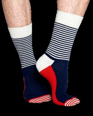 Happy Socks Half Stripe SH01-068 - 2