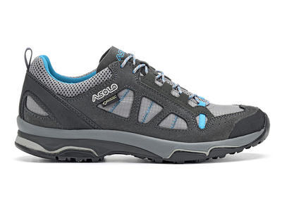 Asolo Megaton GV ML Graphite/stone/cyan blue 5 UK - 2