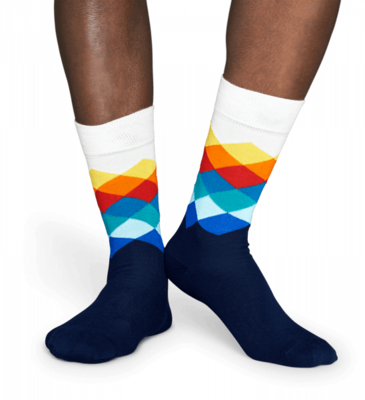 Happy Socks Faded Diamond FD01-105 - 2