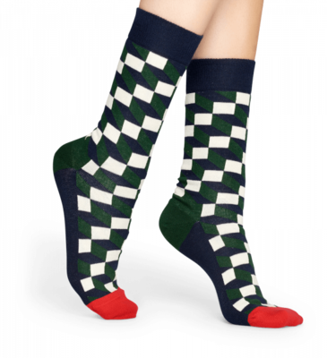 Happy Socks Filled Optic Sock FIO01-7002 - 2