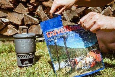 Travellunch Divoké houby s nudlemi (125 gramů) - 2