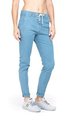 Chillaz Summer Splash Pant, Light blue L - 3