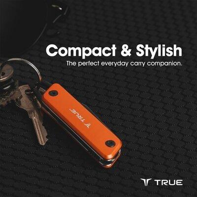 True Utility Modern Keychain Knife Grey - 3