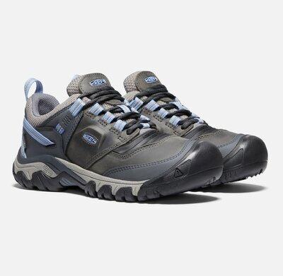Keen Ridge Flex WP W , Steel grey/hydrangea 7,5 UK - 3