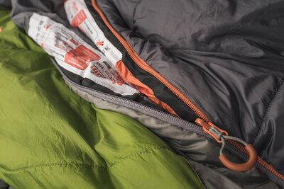 Pinguin Comfort PFM 185 Khaki - levý zip - 3