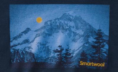 Smartwool M Merino Sport 150 Mount Hood Moon Graphic Tee - 3