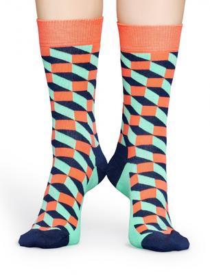 Happy Socks Filled Optic Sock FIO01-3001 - 3