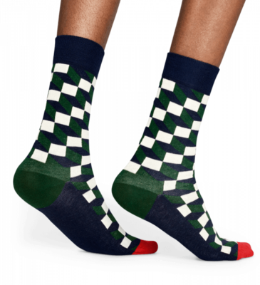 Happy Socks Filled Optic Sock FIO01-7002 - 3