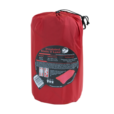 Klymit Insulated Static V Luxe Red - 4