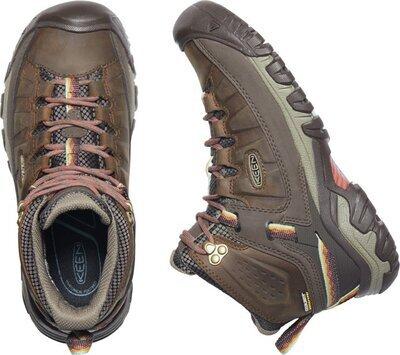 Keen Targhee III MID WP W Bungee cord/redwood 4 UK - 4