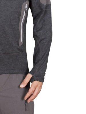 High Point Woolion Merino 2.0 Sweatshirt, Silt Green XL - 4