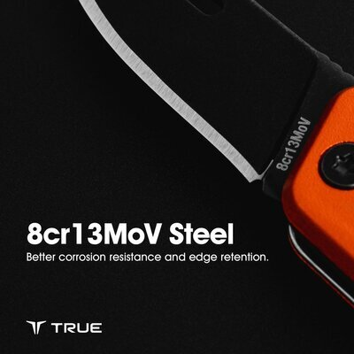 True Utility Modern Keychain Knife Grey - 5