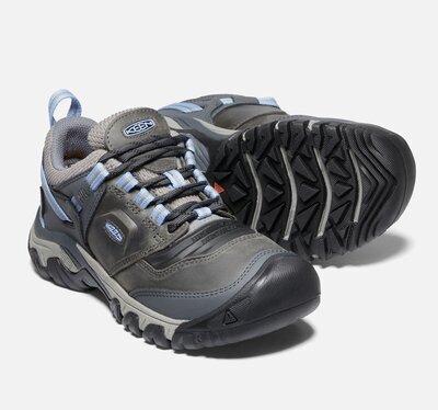 Keen Ridge Flex WP W , Steel grey/hydrangea 7,5 UK - 5