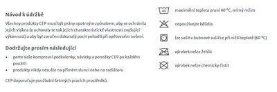 CEP Lýtkové návleky 3.0 - 5