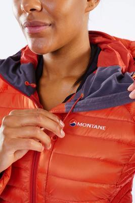 Montane Womens Featherlite Down JKT Paprika S - 6