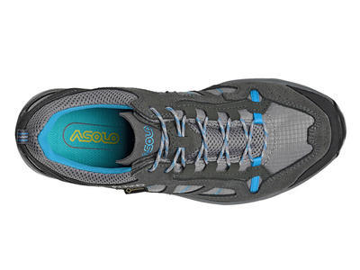 Asolo Megaton GV ML Graphite/stone/cyan blue 5 UK - 7
