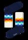 Happy Socks Faded Diamond FD01-105 M-L (41-46), 41-46